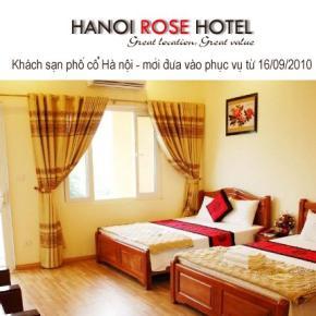 Hostely a ubytovny - Hanoi Rose Hotel