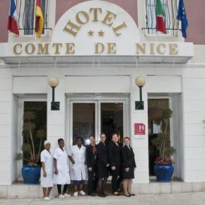 Hostely a ubytovny - Hotel Residence  Comte de Nice