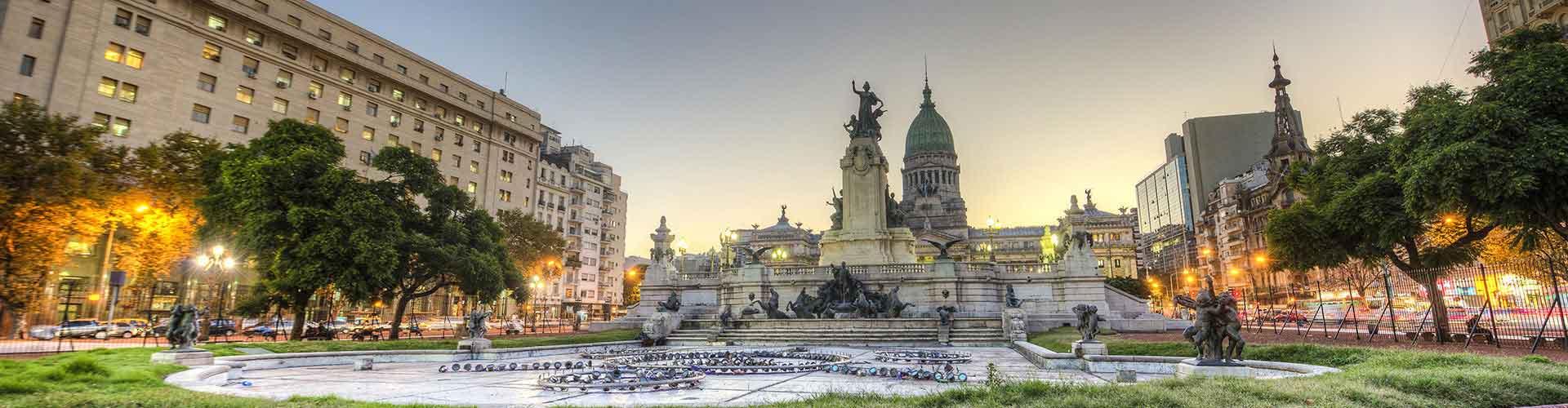 Buenos Aires - Ubytovny v blízkosti Aeroparque Jorge Newbery. Mapy pro Buenos Aires, fotky a recenze pro každou Ubytovnu - Buenos Aires.