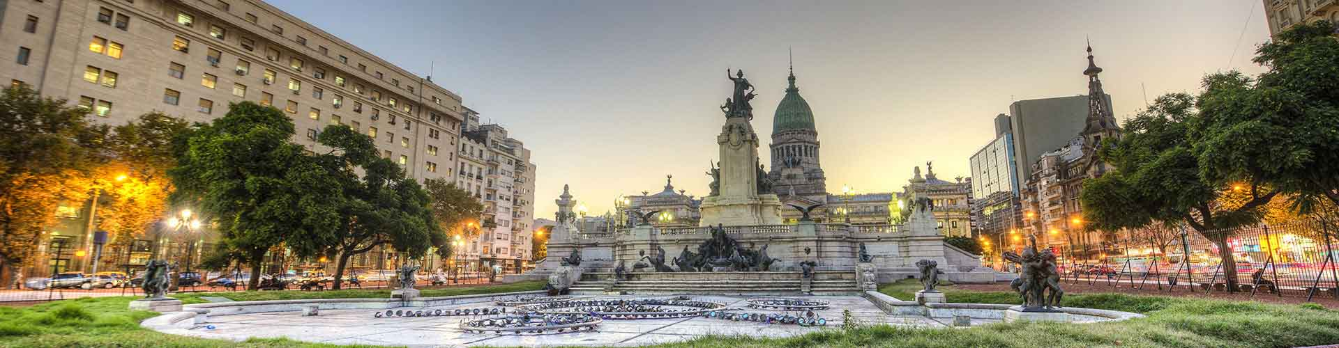 Buenos Aires - hotely v blízkosti Aeroparque Jorge Newbery. Mapy pro Buenos Aires, fotky a recenze pro každý hotel - Buenos Aires.