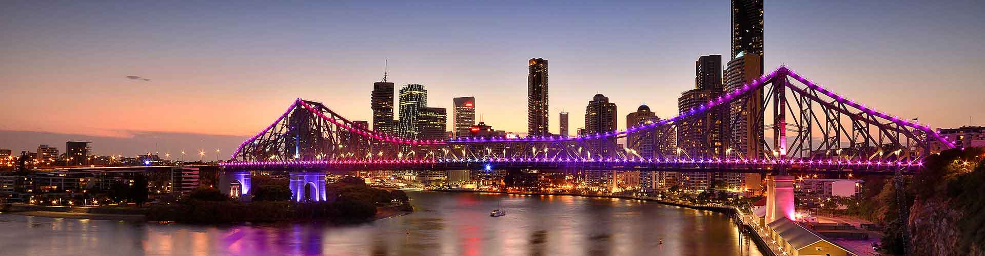 Brisbane - Hostelů ve čtvrti Údolí srdce. Mapy pro Brisbane, fotky a recenze pro každý hostel v Brisbane.