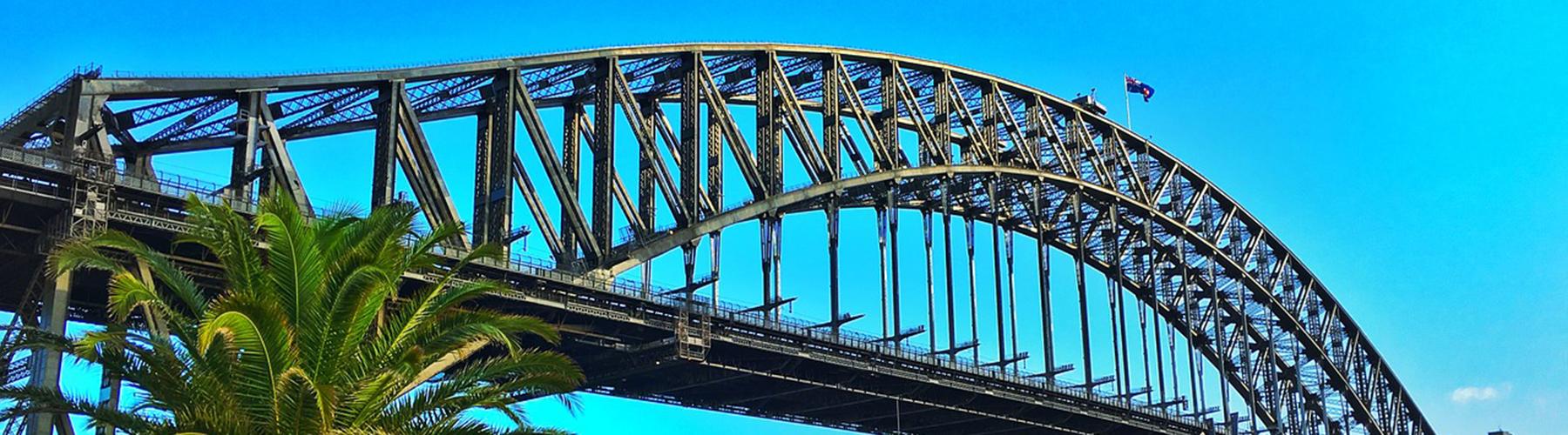 Sydney - Hostelů v blízkosti Sydney Harbour Bridge. Mapy pro Sydney, fotky a recenze pro každý hostel v Sydney.