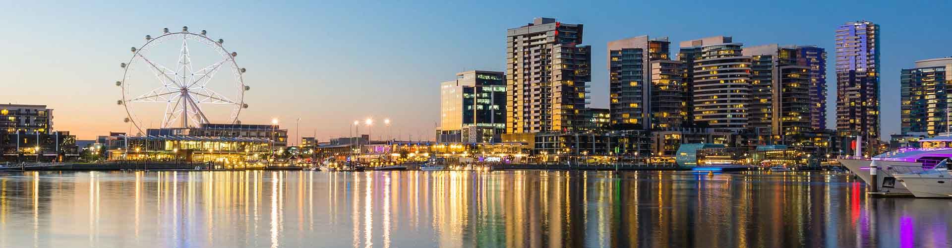 Melbourne - Hostelů v Melbourne. Mapy pro Melbourne, fotky a recenze pro každý hostel v Melbourne.