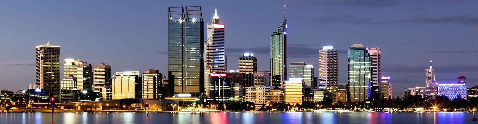 Perth - hotely ve čtvrti Highgate. Mapy pro Perth, fotky a recenze pro každý hotel - Perth.