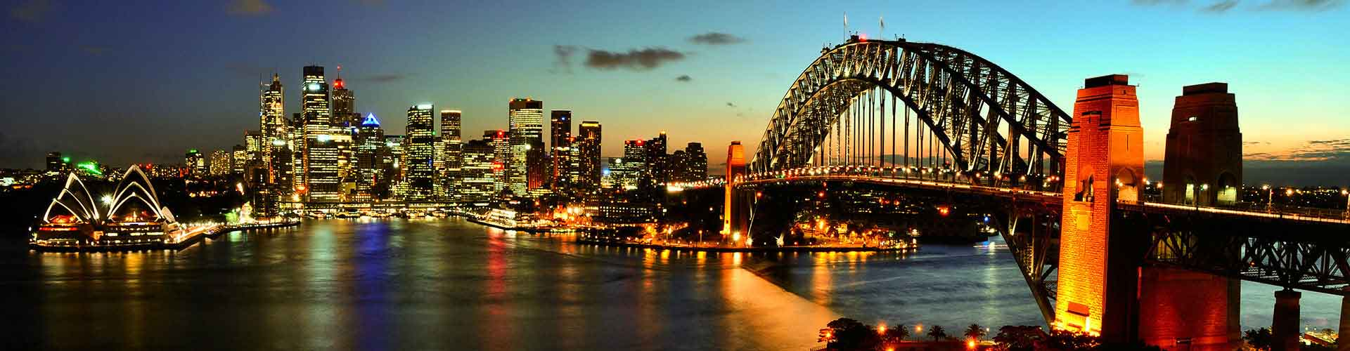 Sydney – Student accommodations, hostels and coworking spaces in Sydney (Austrálie). Maps of Sydney, photos and reviews for each place in Sydney.