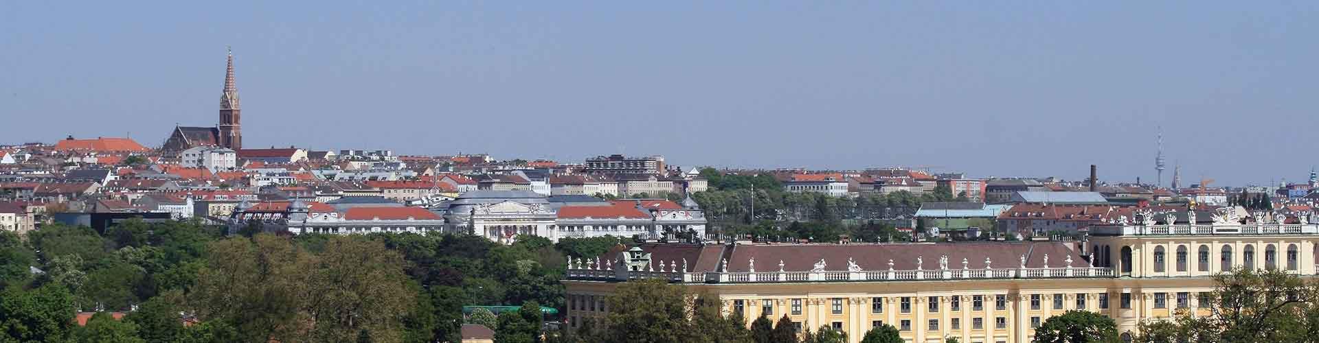 Vídeň - Ubytovny ve čtvrti  Rudolfsheim-Fuenfhaus. Mapy pro Vídeň, fotky a recenze pro každou ubytovnu - Vídeň.