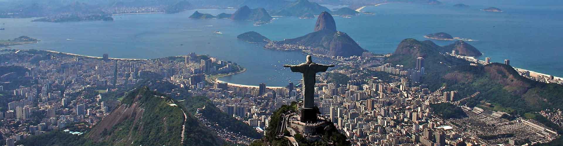 Rio de Janeiro - Ubytovny v blízkosti Santos Dumont Letiště. Mapy pro Rio de Janeiro, fotky a recenze pro každou Ubytovnu - Rio de Janeiro.