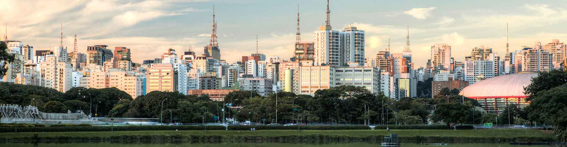 São Paulo – Student accommodations, hostels and coworking spaces in São Paulo (Brazílie). Maps of São Paulo, photos and reviews for each place in São Paulo.