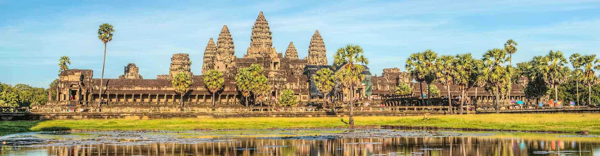 Siem Reap - hotely v Siem Reap. Mapy pro Siem Reap, fotky a recenze pro každý hotel - Siem Reap.