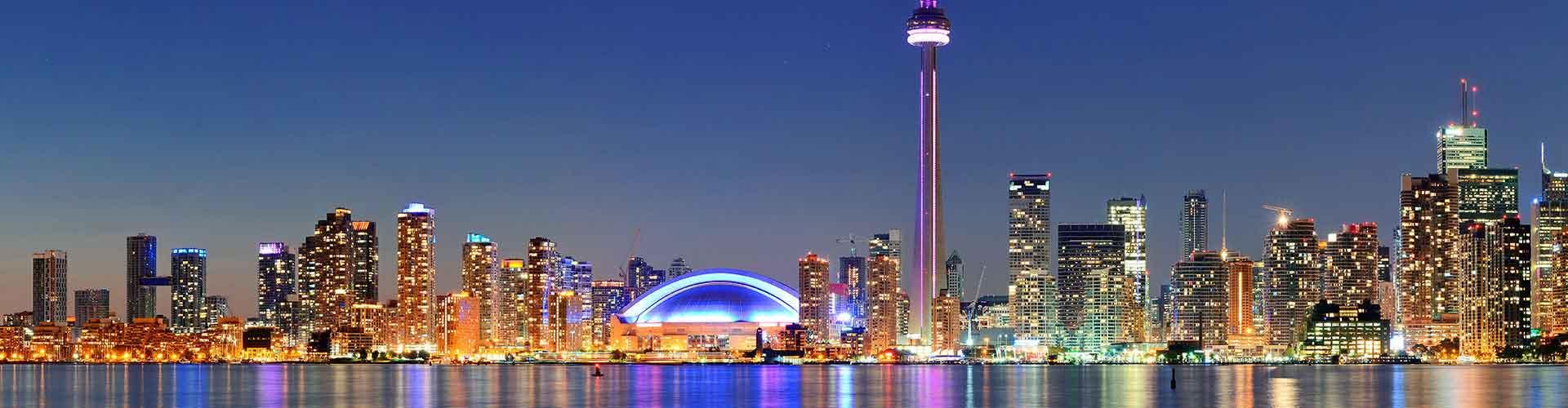 Toronto - Hostelů v Toronto. Mapy pro Toronto, fotky a recenze pro každý hostel v Toronto.