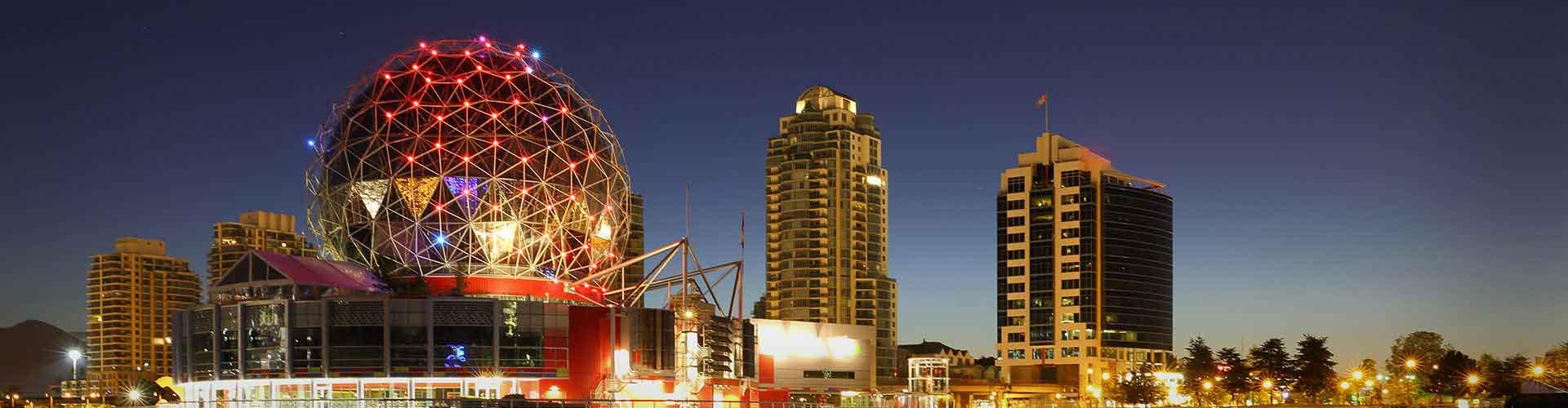 Vancouver - Hostelů v Vancouver. Mapy pro Vancouver, fotky a recenze pro každý hostel v Vancouver.