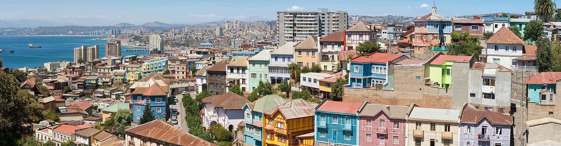 Valparaiso - Hostelů v Valparaiso. Mapy pro Valparaiso, fotky a recenze pro každý hostel v Valparaiso.