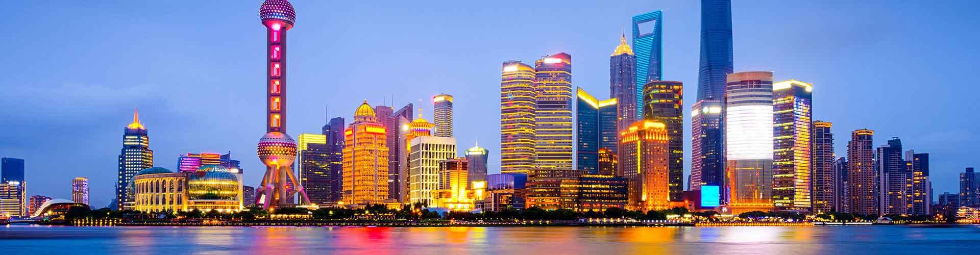 Shanghai - Hostelů v Shanghai. Mapy pro Shanghai, fotky a recenze pro každý hostel v Shanghai.