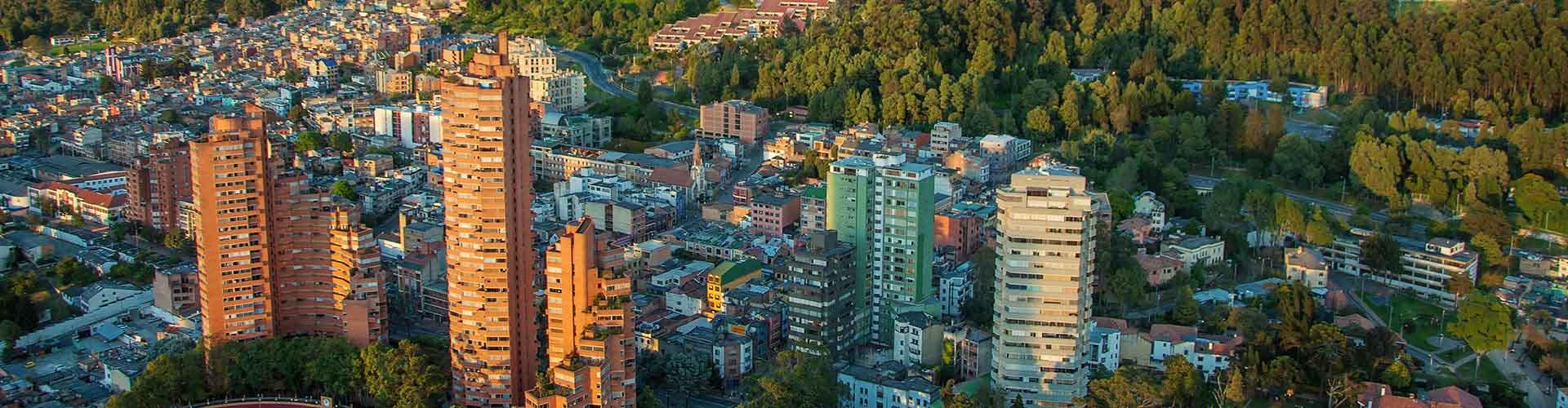 Bogota - Hostelů v Bogota. Mapy pro Bogota, fotky a recenze pro každý hostel v Bogota.