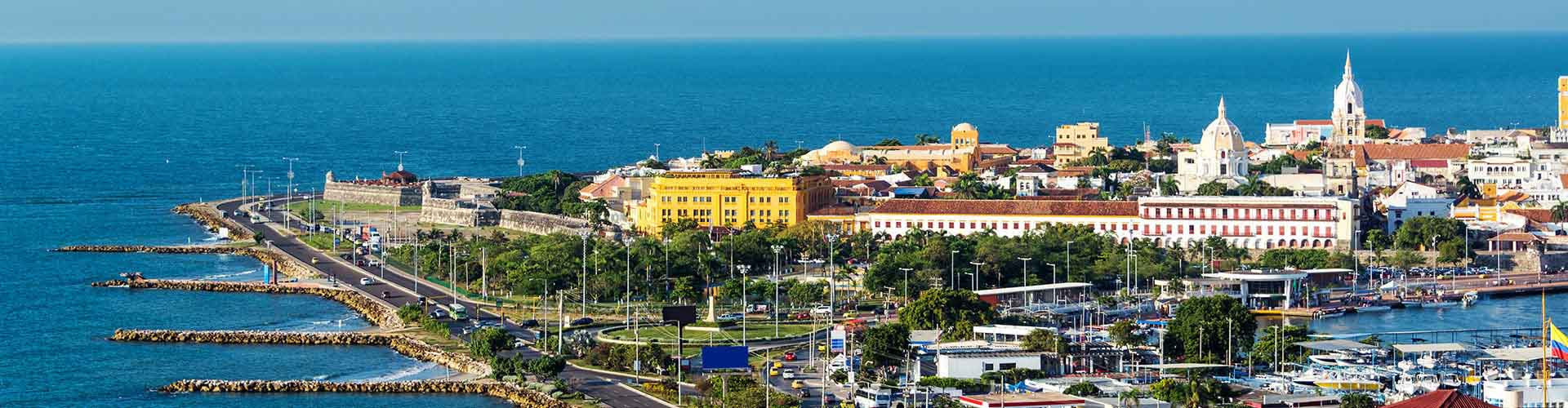 Cartagena – Student accommodations, hostels and coworking spaces in Cartagena (Kolumbie). Maps of Cartagena, photos and reviews for each place in Cartagena.