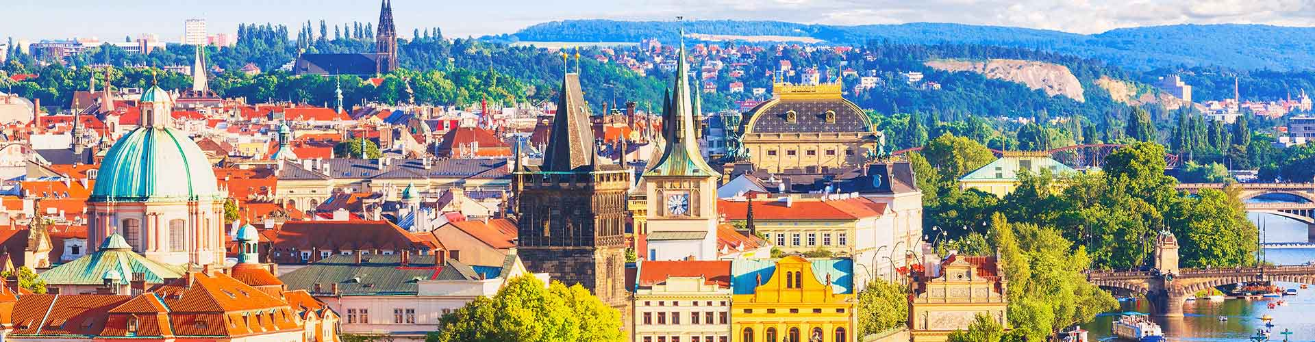 Praha – Student accommodations, hostels and coworking spaces in Praha (Česká republika). Maps of Praha, photos and reviews for each place in Praha.