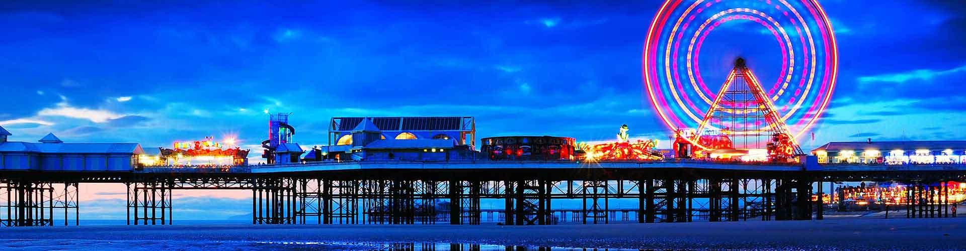 Blackpool - Hostelů v Blackpool. Mapy pro Blackpool, fotky a recenze pro každý hostel v Blackpool.