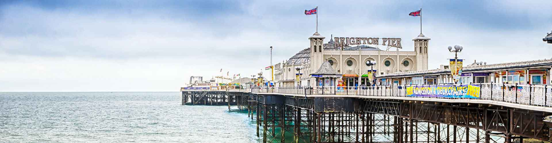 Brighton - hotely v Brighton. Mapy pro Brighton, fotky a recenze pro každý hotel - Brighton.