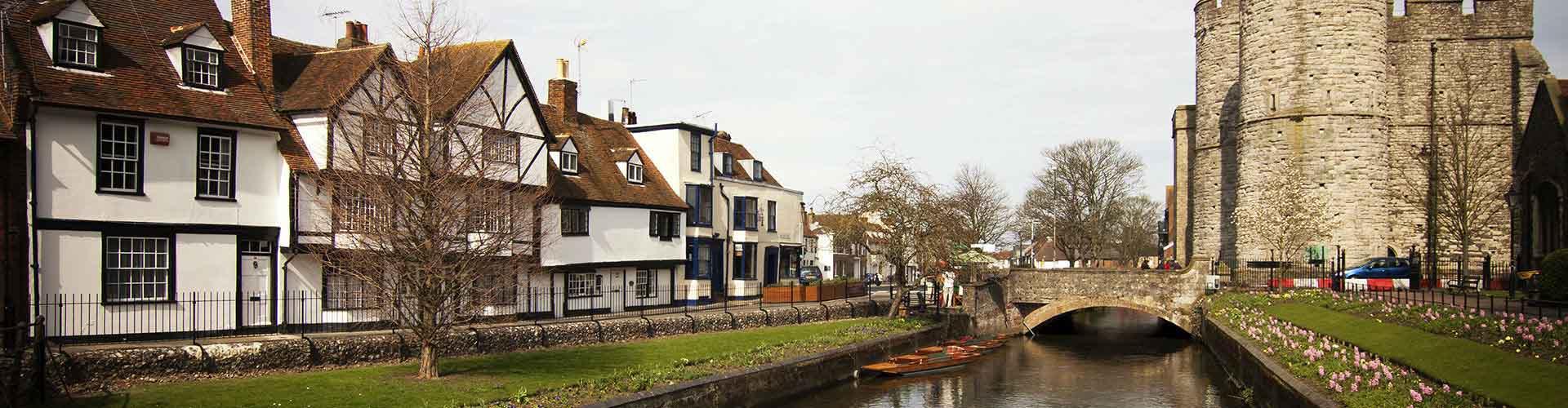Canterbury - Hostelů v Canterbury. Mapy pro Canterbury, fotky a recenze pro každý hostel v Canterbury.