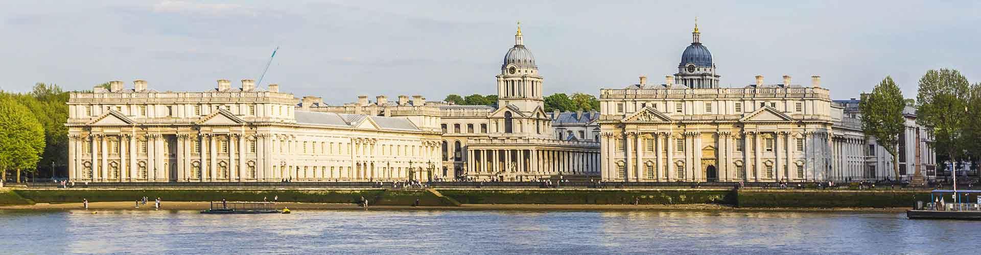 Londýn - Hostelů ve čtvrti Čtvrť Greenwich. Mapy pro Londýn, fotky a recenze pro každý hostel v Londýn.