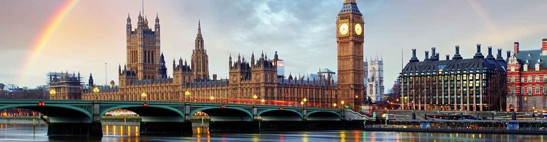 Londýn - Hostelů ve čtvrti Čtvrť Westminster. Mapy pro Londýn, fotky a recenze pro každý hostel v Londýn.