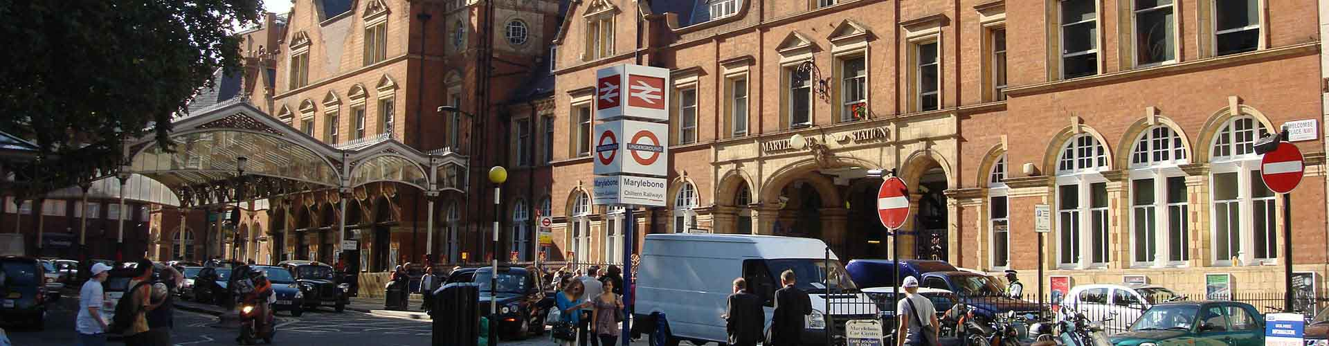 Londýn - Hostelů ve čtvrti Marylebone. Mapy pro Londýn, fotky a recenze pro každý hostel v Londýn.