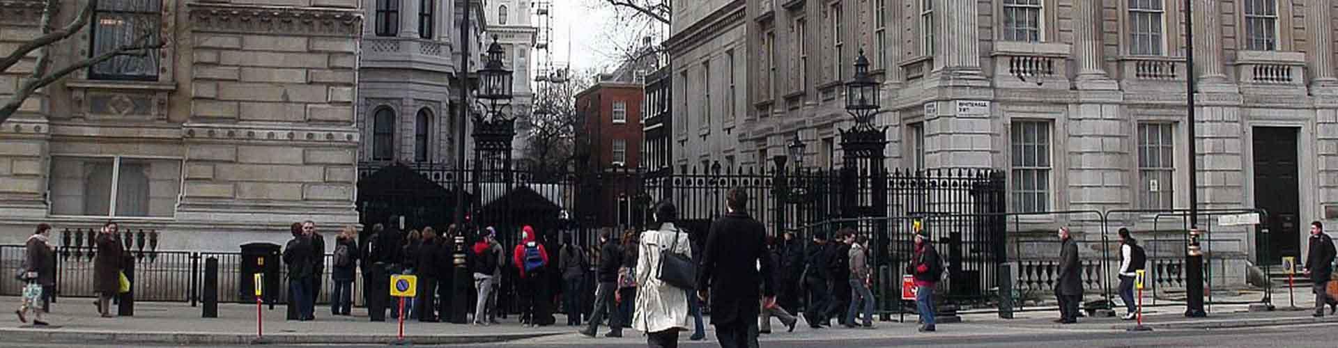 Londýn - Hostelů v blízkosti 10 Downing Street. Mapy pro Londýn, fotky a recenze pro každý hostel v Londýn.