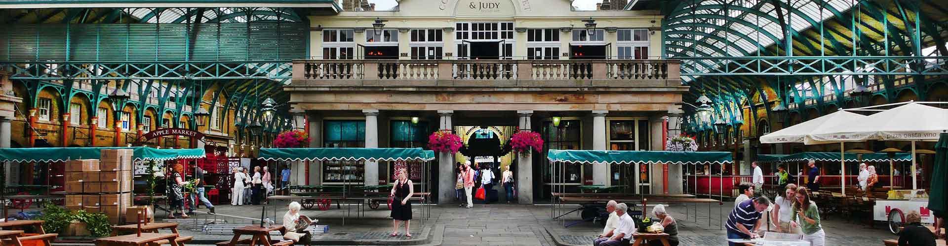 Londýn - Hostelů v blízkosti Covent Garden Piazza. Mapy pro Londýn, fotky a recenze pro každý hostel v Londýn.