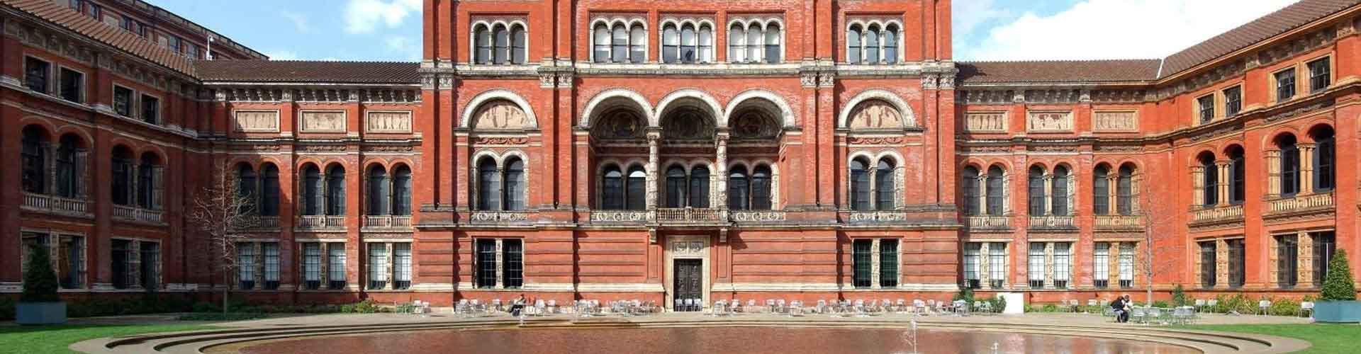 Londýn - Hostelů v blízkosti Victoria a Albert Muzeum. Mapy pro Londýn, fotky a recenze pro každý hostel v Londýn.