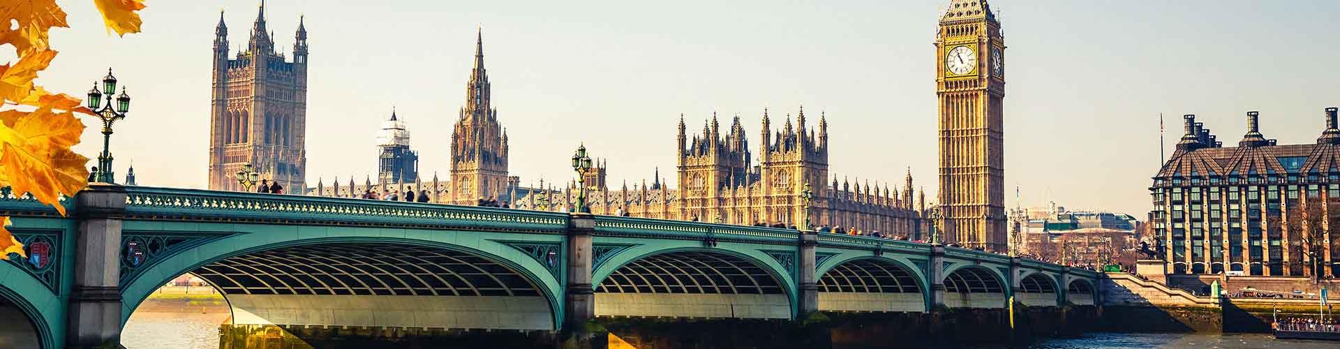 Londýn - Hostelů v Londýn. Mapy pro Londýn, fotky a recenze pro každý hostel v Londýn.