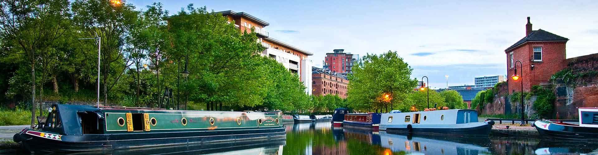 Manchester - Hostelů v Manchester. Mapy pro Manchester, fotky a recenze pro každý hostel v Manchester.