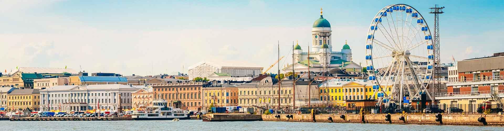 Helsinki - hotely v Helsinki. Mapy pro Helsinki, fotky a recenze pro každý hotel - Helsinki.
