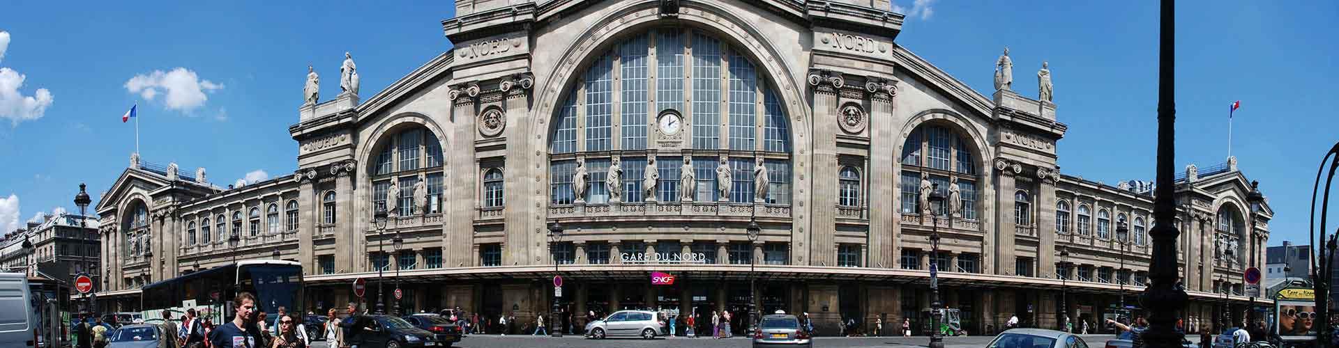 Paříž - Hostelů ve čtvrti Severní nádraží. Mapy pro Paříž, fotky a recenze pro každý hostel v Paříž.