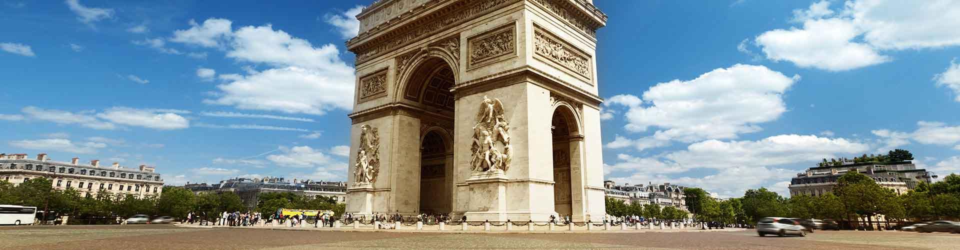 Paříž - Hostelů v blízkosti Arc de Triomphe. Mapy pro Paříž, fotky a recenze pro každý hostel v Paříž.