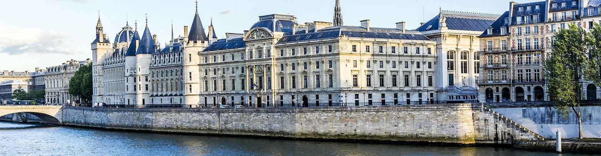 Paříž - Hostelů v blízkosti Conciergerie. Mapy pro Paříž, fotky a recenze pro každý hostel v Paříž.