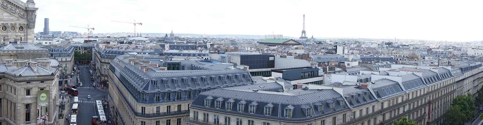 Paříž - Hostelů v blízkosti Galeries Lafayette. Mapy pro Paříž, fotky a recenze pro každý hostel v Paříž.