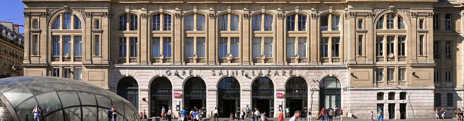 Paříž - Hostelů v blízkosti Gare Saint-Lazare. Mapy pro Paříž, fotky a recenze pro každý hostel v Paříž.