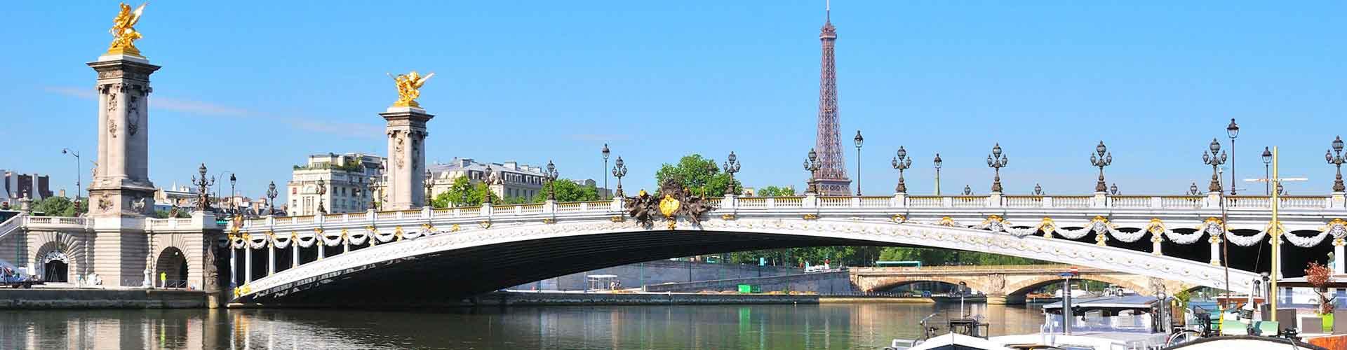 Paříž - Hostelů v blízkosti Pont Alexandre III. Mapy pro Paříž, fotky a recenze pro každý hostel v Paříž.