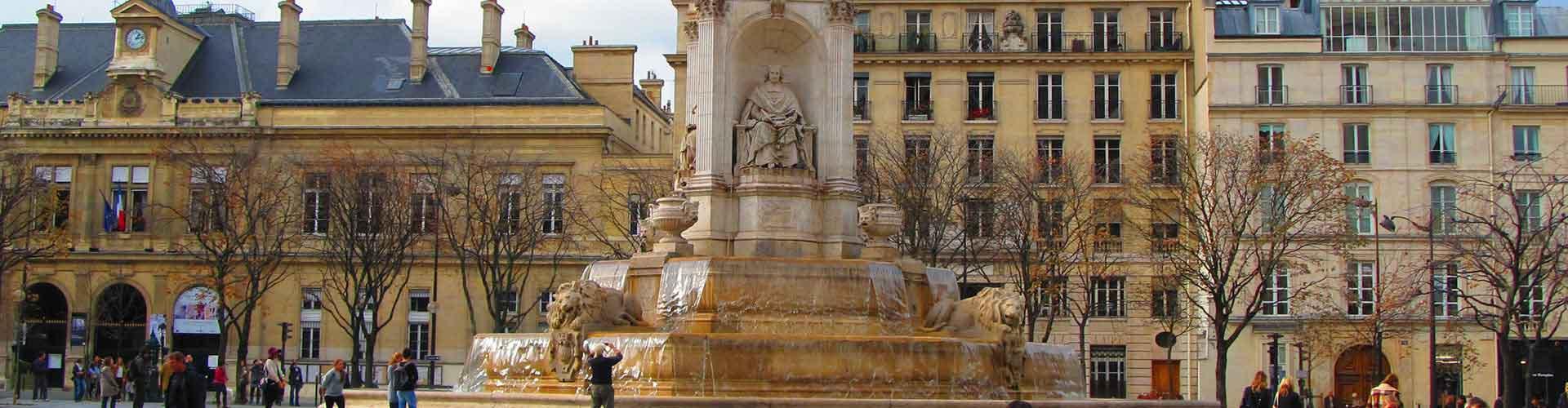 Paříž - Hostelů v blízkosti Saint-Sulpice. Mapy pro Paříž, fotky a recenze pro každý hostel v Paříž.