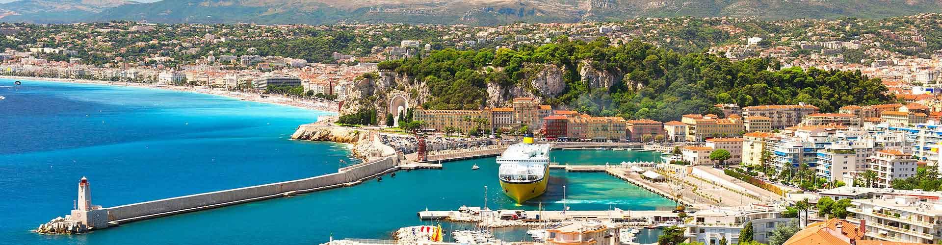 Nice - Hostelů v Nice. Mapy pro Nice, fotky a recenze pro každý hostel v Nice.