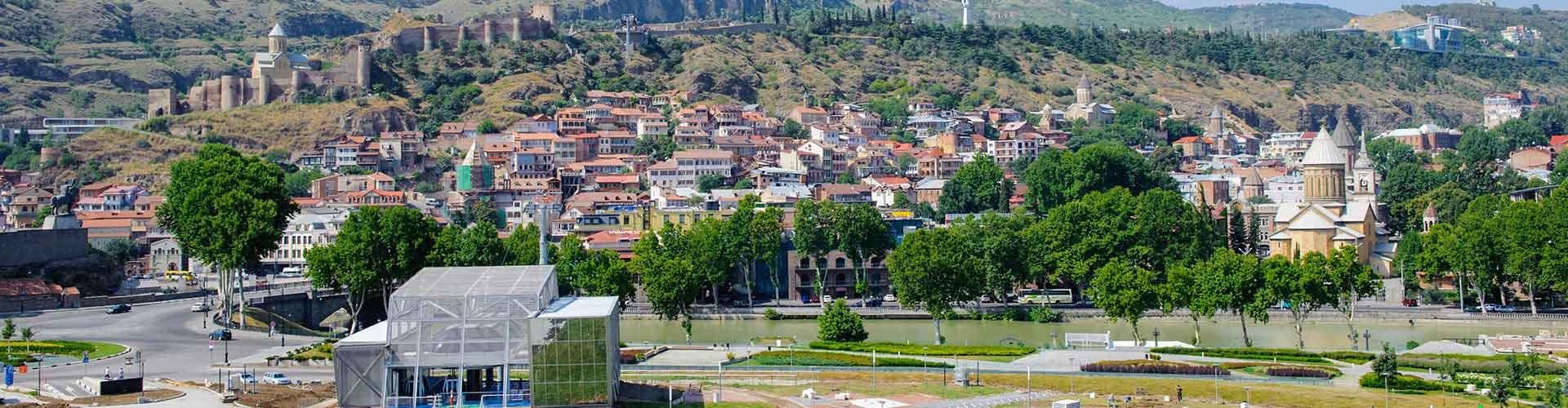 Tbilisi - Hostelů v Tbilisi. Mapy pro Tbilisi, fotky a recenze pro každý hostel v Tbilisi.