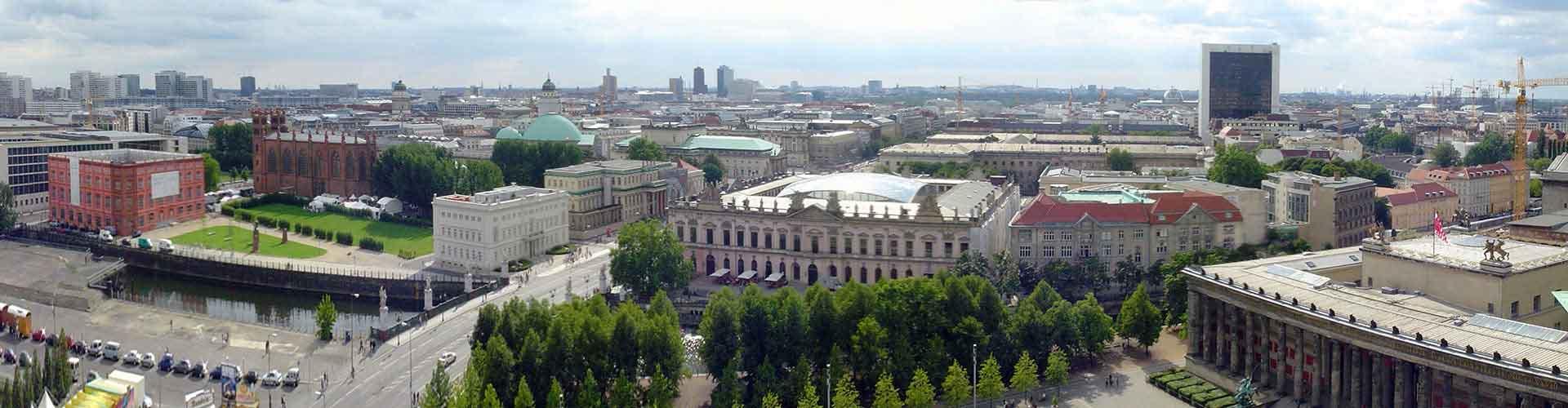 Berlín - Hostelů ve čtvrti Mitte. Mapy pro Berlín, fotky a recenze pro každý hostel v Berlín.