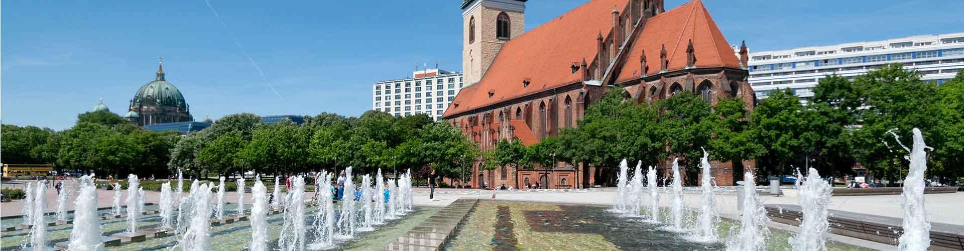 Berlín - Hostelů v blízkosti Marienkirche. Mapy pro Berlín, fotky a recenze pro každý hostel v Berlín.