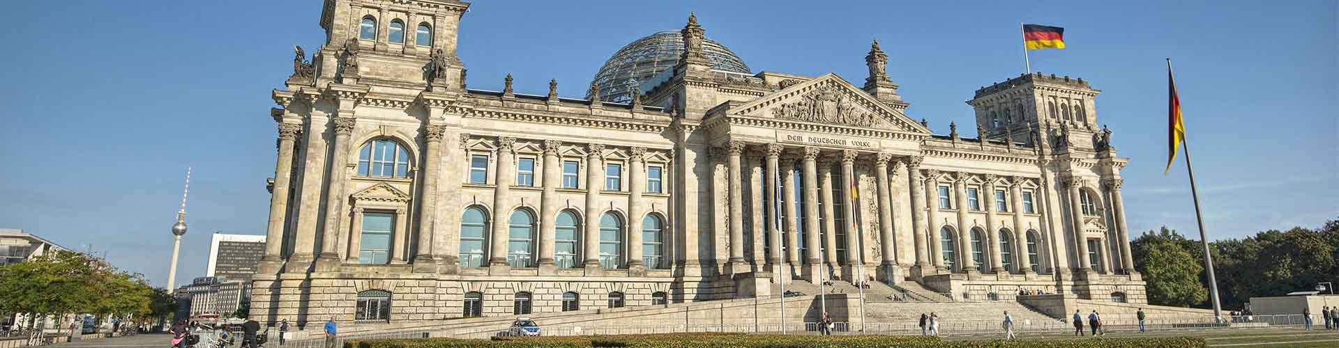 Berlín - Hostelů v blízkosti Budova Reichstag . Mapy pro Berlín, fotky a recenze pro každý hostel v Berlín.