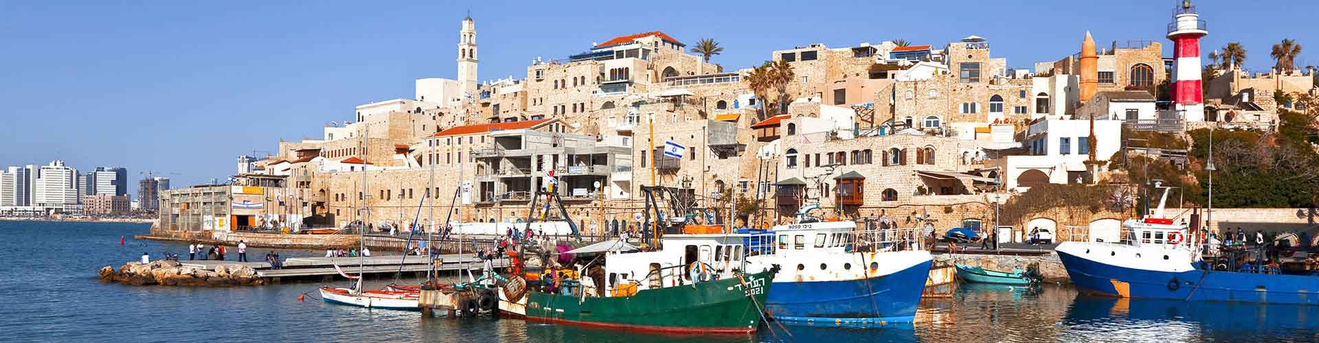 Tel Aviv - Hostelů v Tel Aviv. Mapy pro Tel Aviv, fotky a recenze pro každý hostel v Tel Aviv.