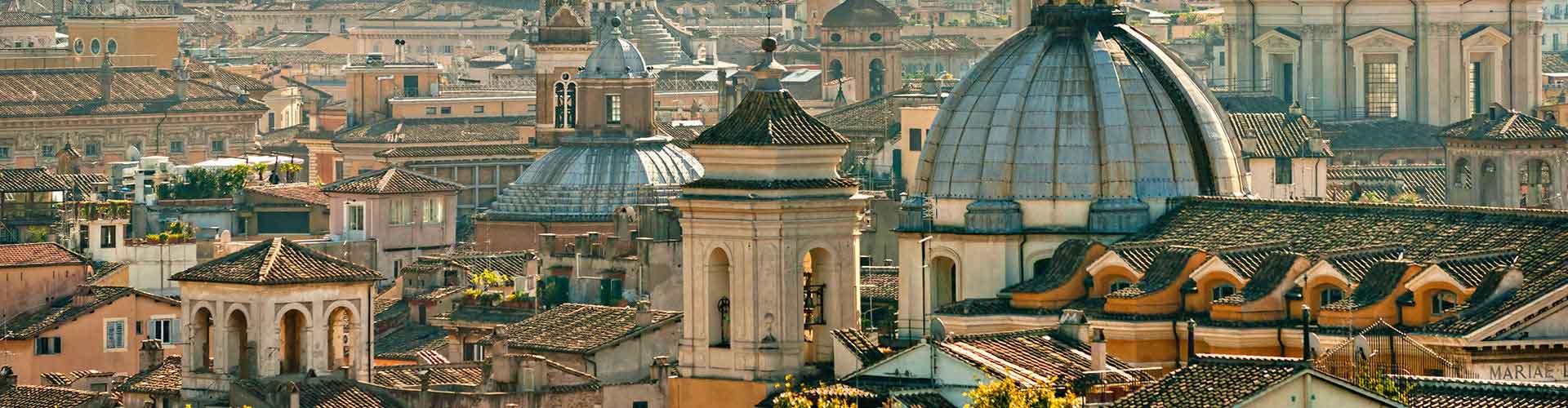 Řím - Hostelů ve čtvrti Staré město. Mapy pro Řím, fotky a recenze pro každý hostel v Řím.