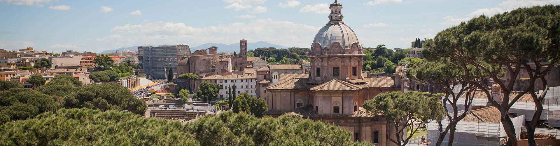Řím - Hostelů ve čtvrti Centrum. Mapy pro Řím, fotky a recenze pro každý hostel v Řím.