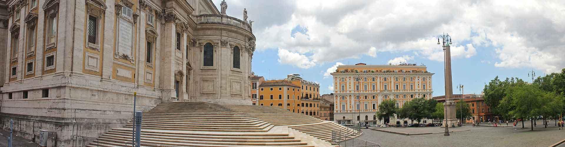 Řím - Hostelů ve čtvrti Esquilino. Mapy pro Řím, fotky a recenze pro každý hostel v Řím.