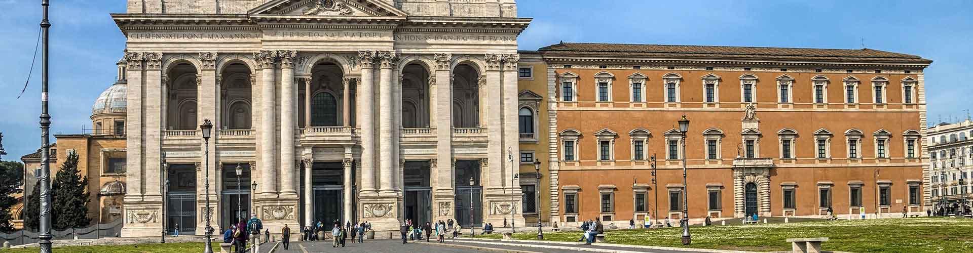 Řím - Hostelů ve čtvrti San Giovanni. Mapy pro Řím, fotky a recenze pro každý hostel v Řím.