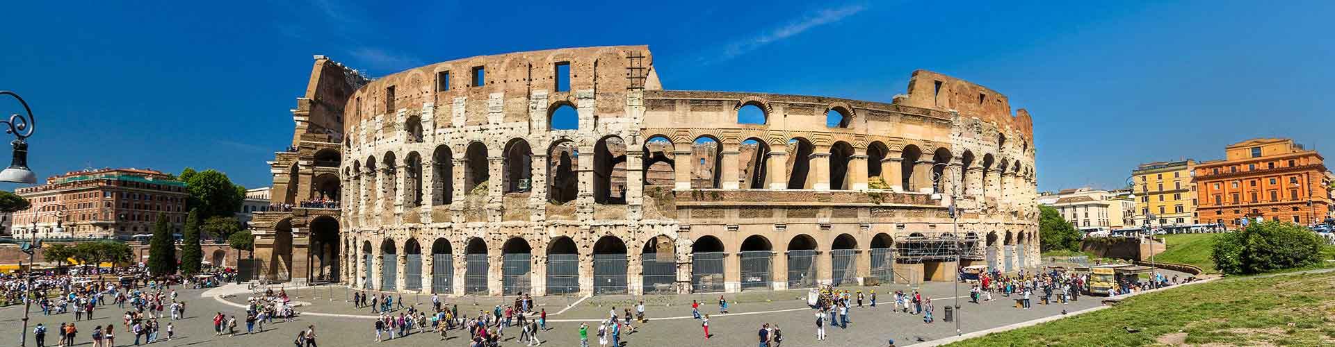 Řím - Hostelů v blízkosti Koloseum. Mapy pro Řím, fotky a recenze pro každý hostel v Řím.